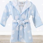 Халат детский Irya Cloud голубой