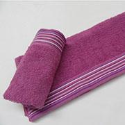 Полотенце махровое Arya Gizem фиолетовое