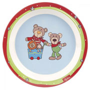 Тарелка sigikid Wild&Berry Bears 24518SK