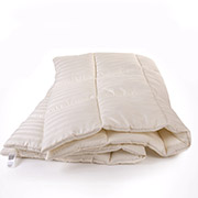 Одеяло хлопковое зимнее стандартное Чехол Сатин Италия Royal Pearl MirSon 098 Одеяло хлопковое зимнее стандартное