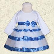 Платье для девочки Маленькая леди Бетис интерлок