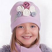 Зимняя шапка и шарф Pupill Tosca