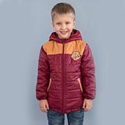 Куртка для мальчика Спорт демисезонная Модный карапуз 03-00565 бордовая