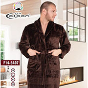 Мужской халат Cocoon 14-5407 brown