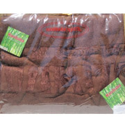 Простынь бамбуковая Hanibaba коричневая