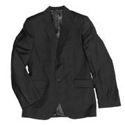 Пиджак черный подростковый Юность 206