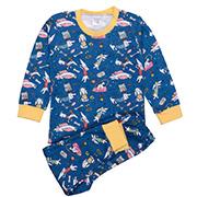 Пижама для девочки Татошка бирюзовый с желтым Таксы