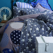 Постельное белье Karaca Gatsby синий