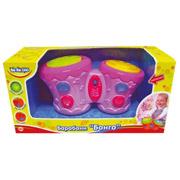 Барабаны Бонго BeBeLino 57032-1 розовые