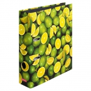 Папка-регистратор Herlitz А4 8см World of Fruit Lime 10485134