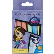 Набор цветных мелков Pet Shop Kite PS15-075K