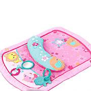 Коврик для выкладывания на живот Маленькие цветы розовый Kids II