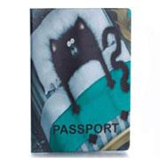 Обложка для паспорта ZIZ Кот в кровати ZIZ-10027