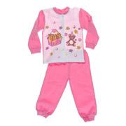 Пижама для девочки Niso Baby Торт розовая