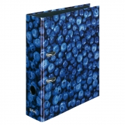 Папка-регистратор Herlitz А4 8см World of Fruit Blueberry 11080660