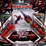 Набор для битвы Monsuno Eklipse Sizzler и Firewalker Сombat 2-Packs W5 34440-42938-MO