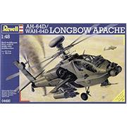 Конструктор Боевой вертолет Apache AH-64 D Brit. Army update 1:48 Revell 04420