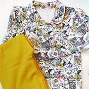 Пижама для мальчиков Оливковые Мячики ТМ Niso Baby 603Ao