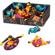 Игровой набор для игры в ванной веселые пловцы Battat
