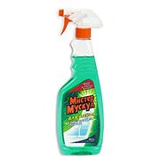 Моющие средство для стекла с нашатырным спиртом Mr Muscule