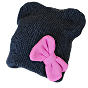 Демисезонная шапка Бабасик Алиса серая