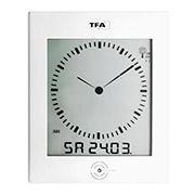 Часы настенные цифровые TFA Dialog 604506 с контролем микроклимата