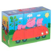 Деревянные кубики Кубики Пеппы Peppa 24441