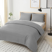 Пододеяльник Ютек Hotel Collection Cotton Melange Grey - Фото №2