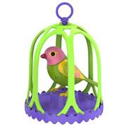 Интерактивная птичка в клетке DigiBirds Маргаритка