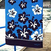 Пляжное полотенце Marie Claire Fortaleza бирюзовое