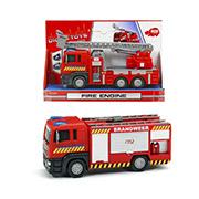 Пожарная машина Man с подвижными частями Dickie
