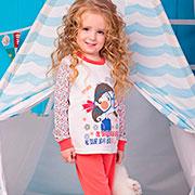 Пижама для девочки Очкарик Zironka 906-017