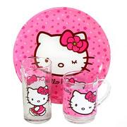 Набор Luminarc Hello Kitty Sweet Pink 3 предмета
