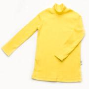Гольфик для девочек рубчик Модный Карапуз 03-00615 желтый