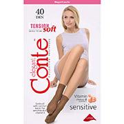 Носки светло-коричневые 40 Den Tension soft 1 пара Conte 14С-55СП Shade