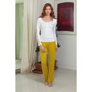 Пижама женская Hays 4138 желтая