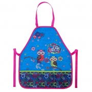 Фартук Kite Pretty owls K18-161-2 голубой