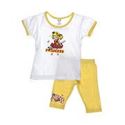 Костюм детский для девочки Niso Baby 1010 желтый