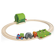 Набор железной дороги Путешествие по джунглям Hape E3800