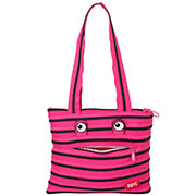 Сумка Zipit Monsters Tote Beach Pink Begonia & Black Teeth ZBZM-2 розовый