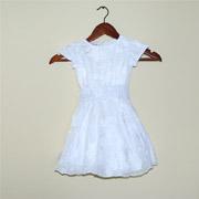 Платье для девочки с вышивкой Bimbissimi ПЛ-1501 белое
