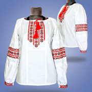 Вышитая блуза для девочек Сварга Маричка