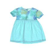 Платье детское Niso Baby 1211 голубое