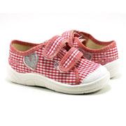 Кеды подростковые Саша 121-410 розово-белые