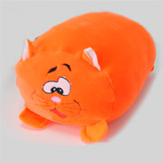 Антистрессовая подушка Кот велюр