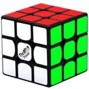Кубик Рубика QiYi MoFangGe Valk 3 Power 3x3 Black-Base 128