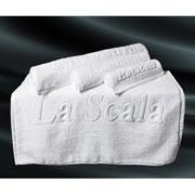 Полотенце для ног белое La Scala CH