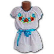 Вышитая сорочка для девочек Bimbissimi ВСД-024