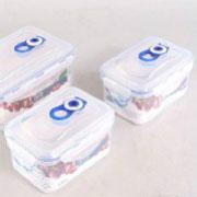 Комплект герметичных пластиковых контейнеров для хранения продуктов 4547