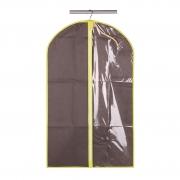 Чехол для одежды коричневый МД 100х60 см